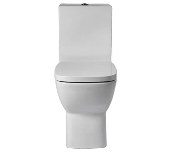 Aqua Piccolo 365mm Close Coupled Toilet With Soft Close Seat