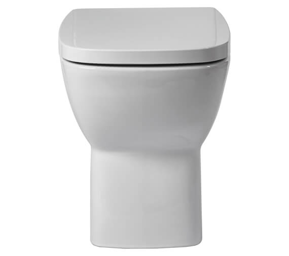 Aqua Piccolo 525mm Back To Wall Toilet With Soft Close Seat