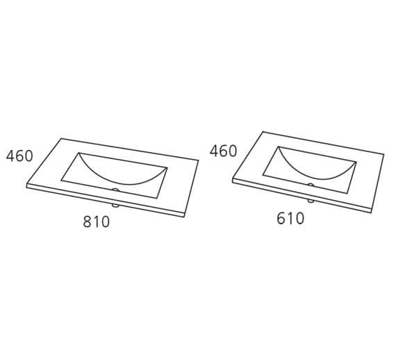 Technical drawing QS-V98170 / VI080021