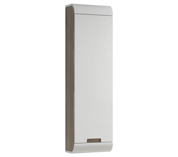 Aqua Sunne 1200m High Single Door Wall-Hung Tall Unit