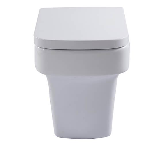 Aqua Medici 520mm Back To Wall WC Pan With Soft Close Seat
