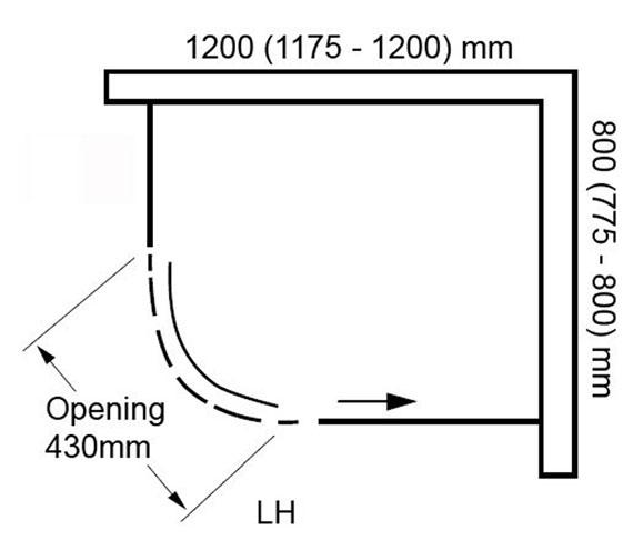 Technical drawing QS-V100823 / BENDY9391B810BTL