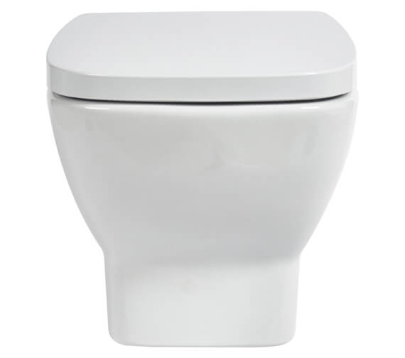 Aqua Piccolo 525mm Wall Hung WC With Soft Close Seat