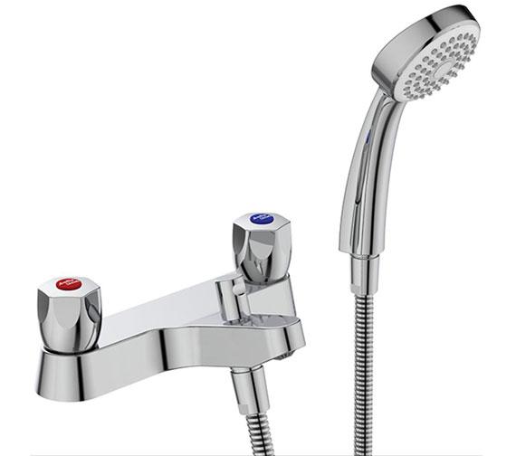 Armitage Shanks Sandringham 21 Bath Shower Mixer With Kit - Chrome Finish