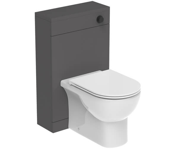 Additional image of Saneux Austen 500mm Floor Standing Back To Wall WC Unit