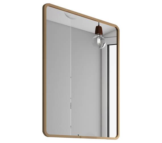 Aqua Vogue 600 x 800mm Reversible Copper Frame Mirror