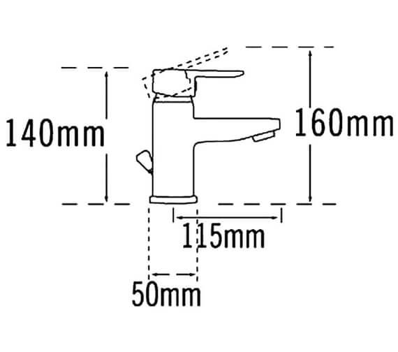 Technical drawing QS-V31345 / 1275