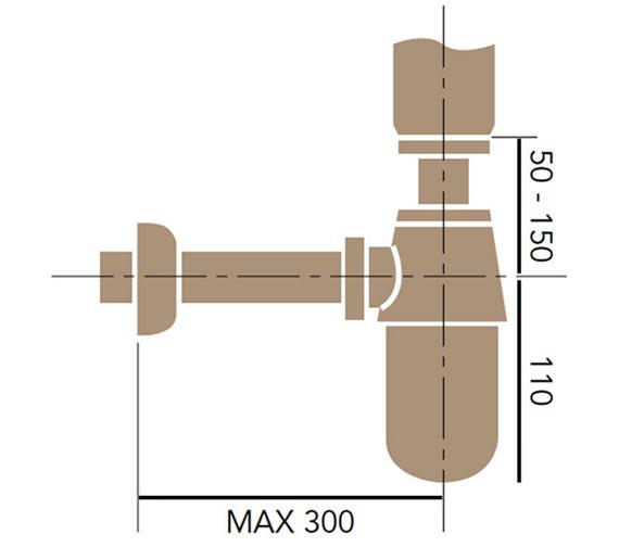 Technical drawing QS-V60868 / THC19