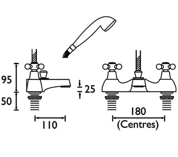 Technical drawing QS-V53091 / R DBSM C