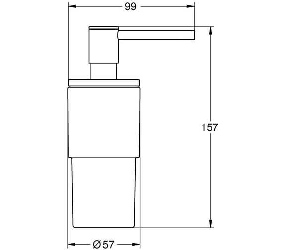 Technical drawing QS-V104259 / 40306003