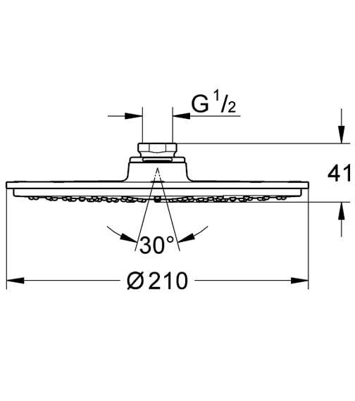Technical drawing QS-V61311 / 28368000