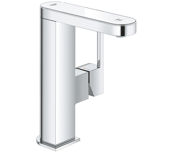 Grohe Plus Single Lever Basin Mixer Tap With LED Display