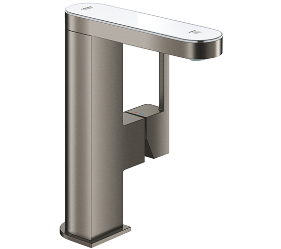 Additional image of Grohe Plus Single Lever Basin Mixer Tap With LED Display