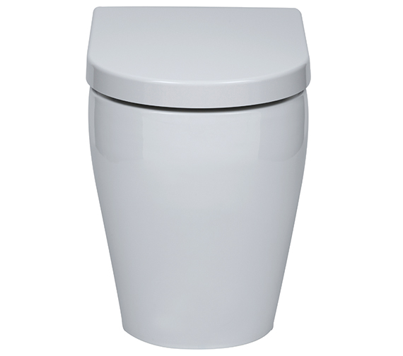Aqua Edition Emme Back To Wall Toilet With Soft Close Seat