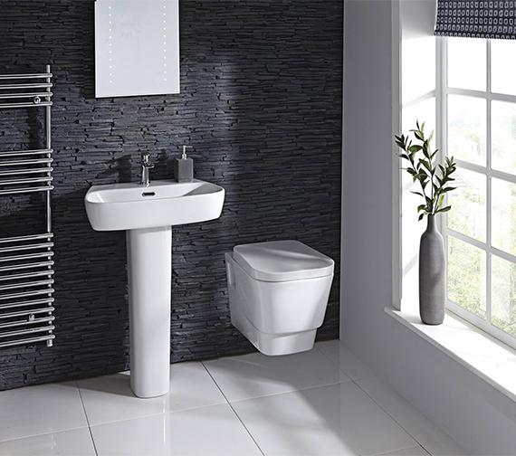 Aqua Edition Cubix Wall Hung Toilet With Soft Close Seat