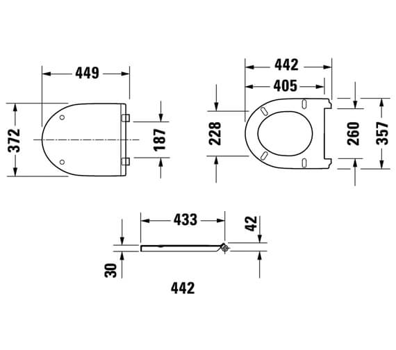 Technical drawing QS-V100405 / 0020710000