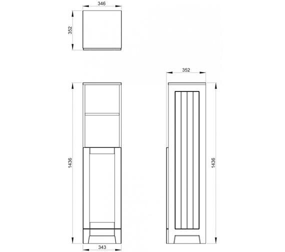 Technical drawing QS-V100803 / CV29466/414
