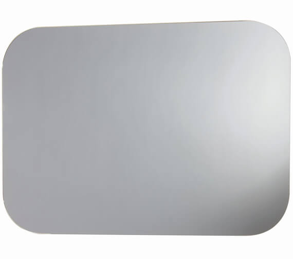 Harrison Bathrooms Aura 500mm x 700mm LED Mirror With Demister Pad And Shaver Socket