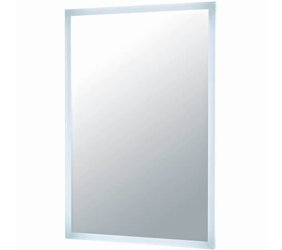 Harrison Bathrooms Mosca 600MM x 800MM LED Mirror With Demister Pad And Shaver Socket
