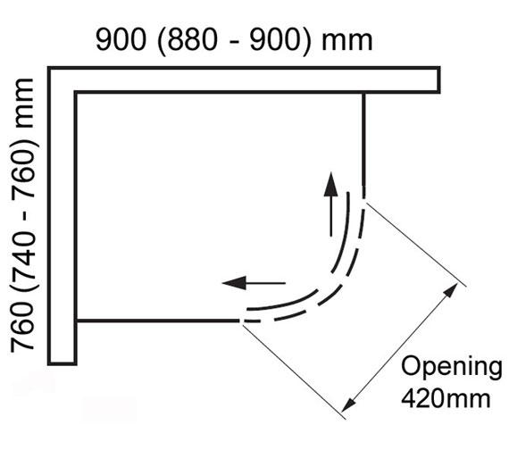 Technical drawing QS-V100825 / BE822101