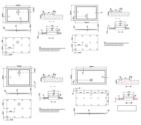 Technical drawing QS-V22745 / ST0R71200