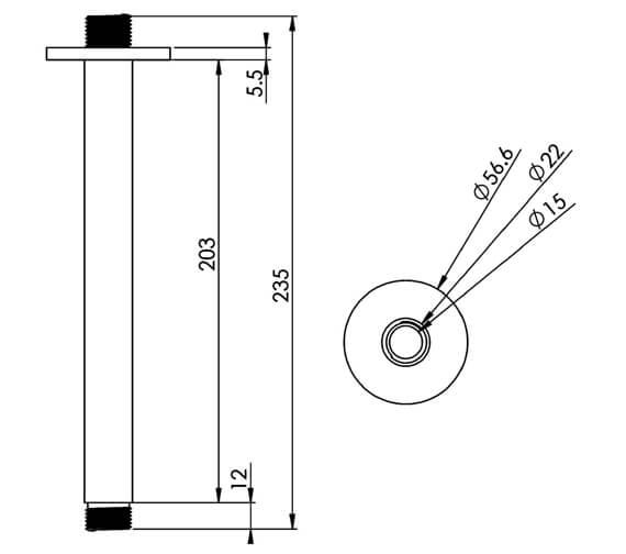 Technical drawing QS-V88879 / CO237