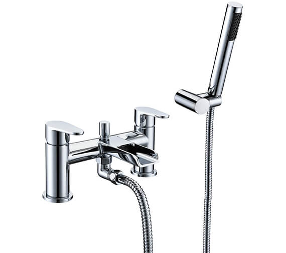 AquaFlow Ballini Waterfall Bath Shower Mixer Tap