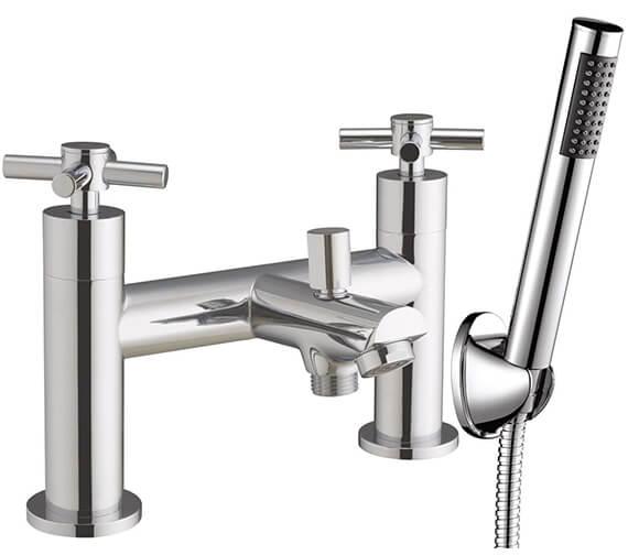 AquaFlow Fusion X Chrome Bath Shower Mixer Tap