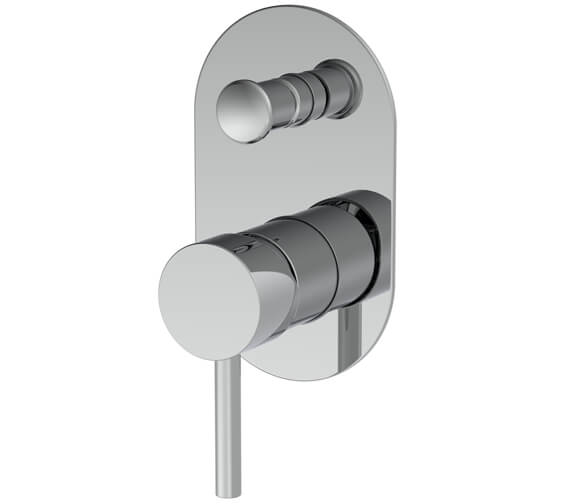 Saneux Cos Concealed Manual Bath Shower Mixer Valve With Diverter
