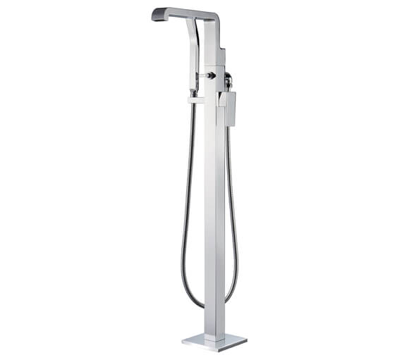 AquaFlow Estrada Freestanding Waterfall Bath Shower Mixer Tap