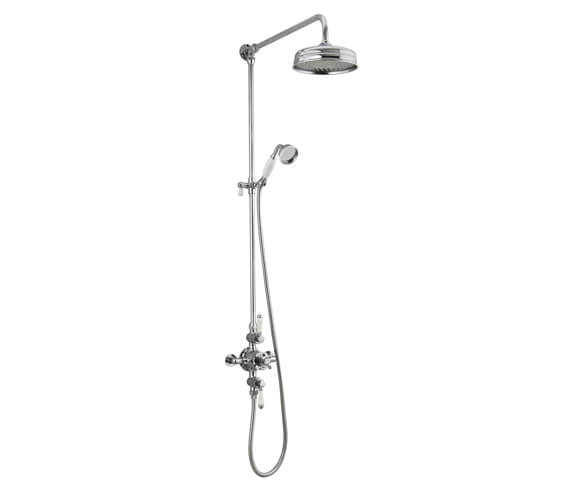 Holborn Shaftesbury Exposed Thermostatic Shower Column