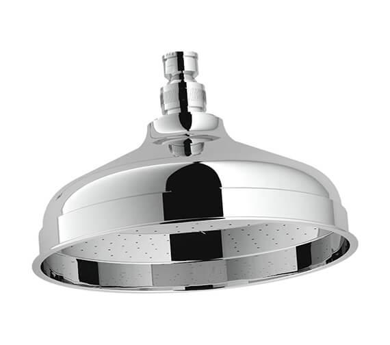 Holborn Traditional Chrome 200mm Shower Head
