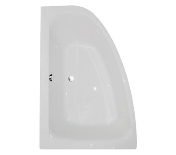 Aqua Cloud 1500 x 1000mm Offset Corner Bathtub - Different Variants Available