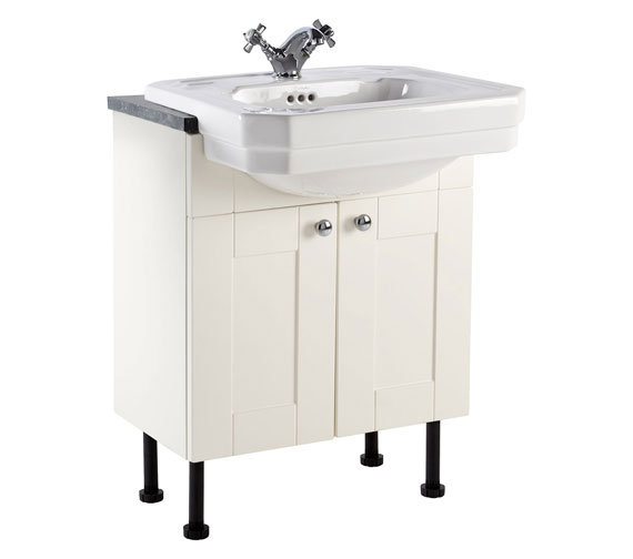 Holborn 600mm Fitted Vanity Unit