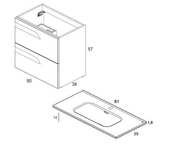 Technical drawing QS-V101408 / RO122757