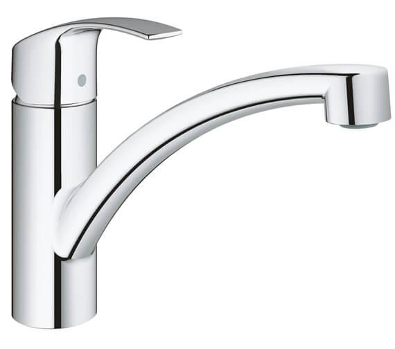 Grohe Eurosmart Low Spout Kitchen Sink Mixer Tap - 33281002