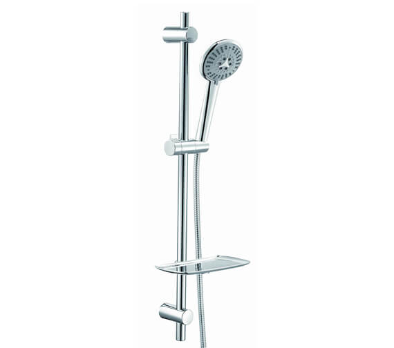 Aqua Athena Slide Rail Shower Kit With 6 Jet Hand Shower
