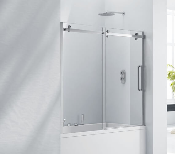 Aquaglass 8mm Frameless Sliding Bath Screen