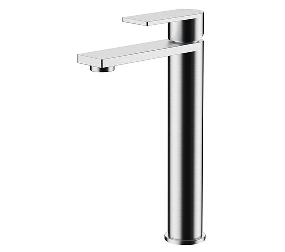 Additional image of Aqua Edition Strand Basin Mixer Taps With Click Clack Waste