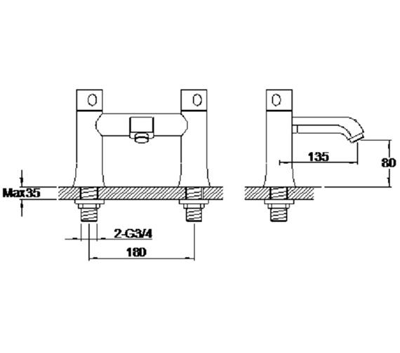 Technical drawing QS-V42641 / S860-3301