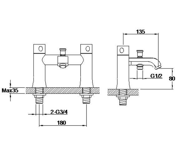 Technical drawing QS-V42645 / S860-3501