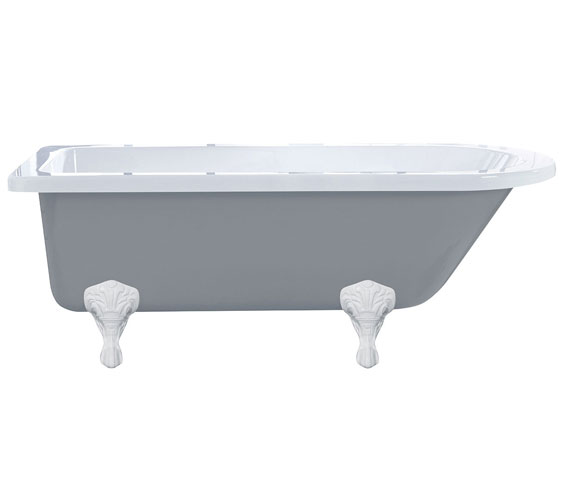 Additional image of Holborn Kilnsey 1700 x 750mm Freestanding Traditional Bath