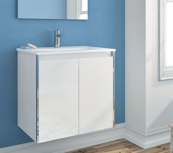 Additional image of Royo Valencia 600 x 430mm Two Doors Wall-Hung Vanity Unit