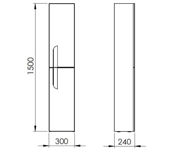 Technical drawing QS-V101410 / RO21863