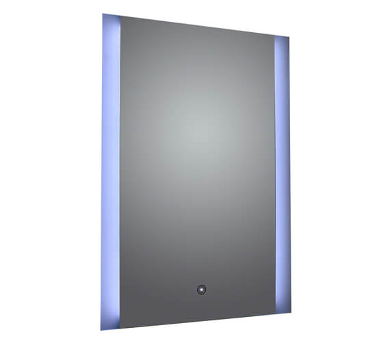 Frontline Ashbourne Mirror With Side Light Touch Sensor And Demister Pad