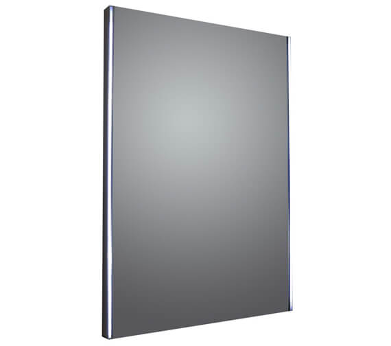 Frontline Weeton 500mm Mirror With Reversible Slide Light And Demister