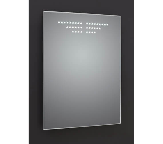 Frontline Infinity 600 x 800mm LED Mirror With Bevel-Edge And Demister Pad