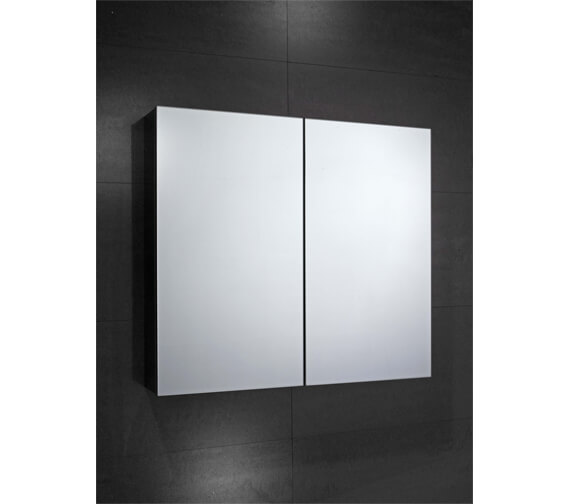 Frontline Fulford  600 x 680mm Double Mirrored Cabinet