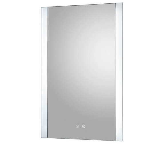 Hudson Reed Glamour 500 x 700mm Touch Sensor LED Mirror With Demister Pad