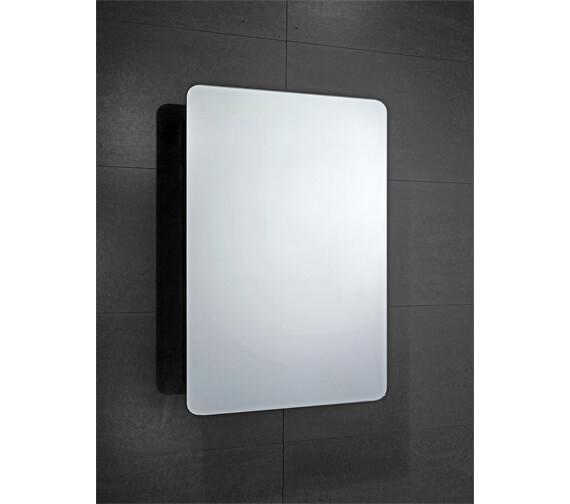Frontline Scholes 500 x 700mm Sliding Mirrored Cabinet